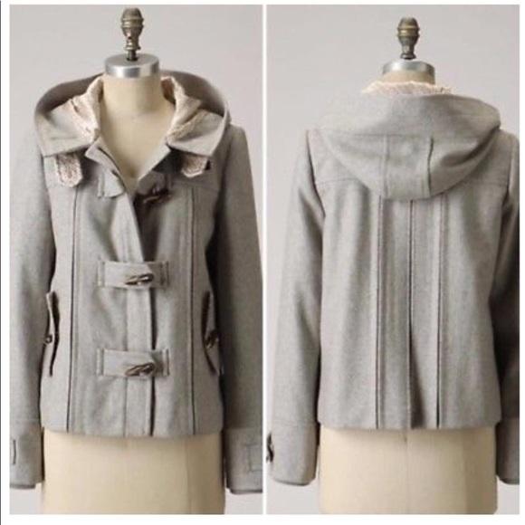 elevenses Jackets & Blazers - Anthropologie Elevenses Frost Coat Size 8